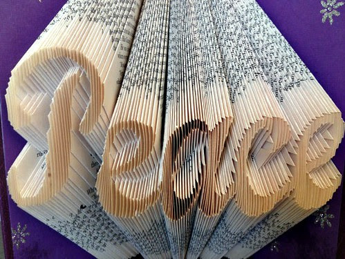 Folded Book - Peace