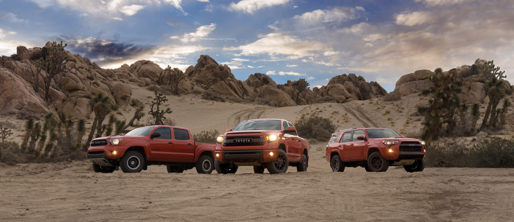 2015 Toyota TRD Pro-Series Off-Roaders Debut At 2014 Chicago Auto Show