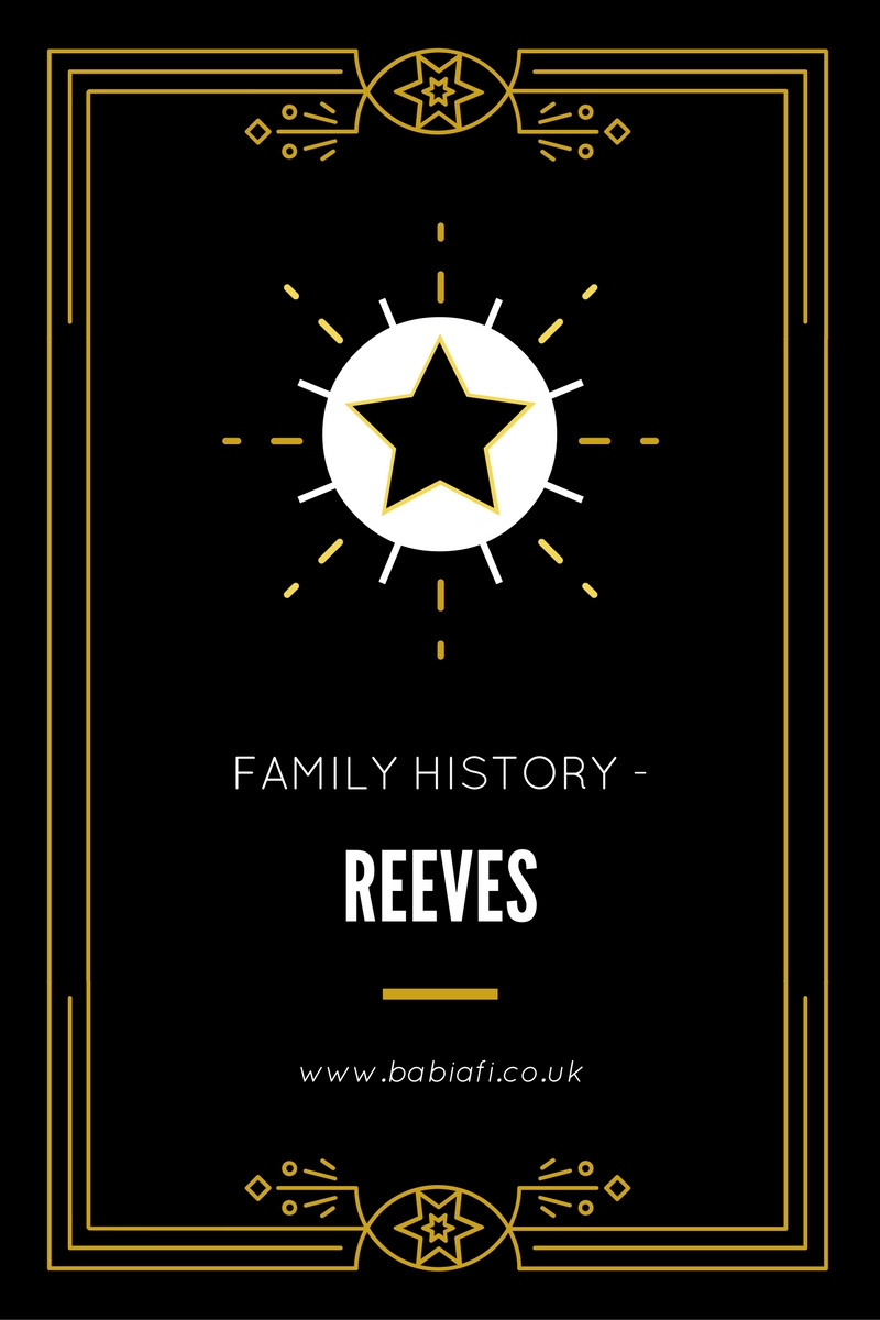 Family History - Reeves
