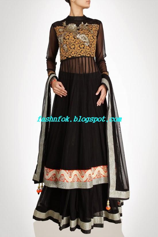 Anarkali-Bridal-Wedding-Lehenga-New-Fashion-Outfits-by-Kiran-&-Shruti-Aksh-5