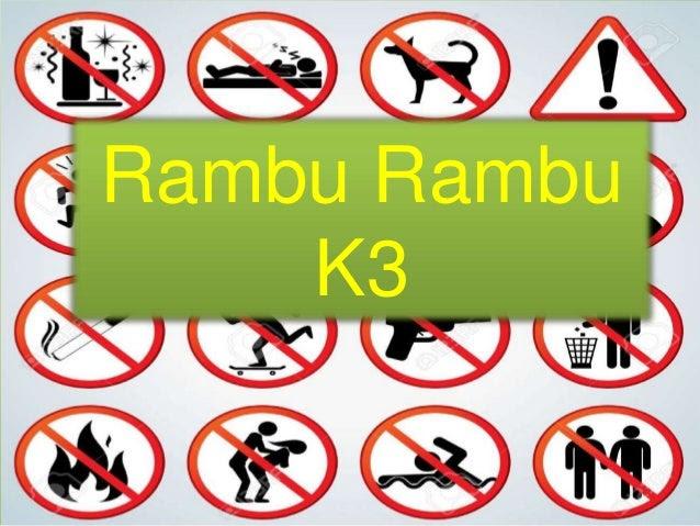 Ide 50 Rambu Rambu K3 Motif Minimalis