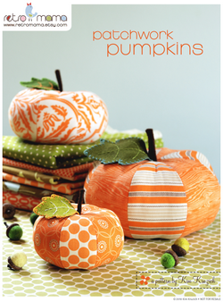 Retro Mama | Patchwork Pumpkin sewing pattern