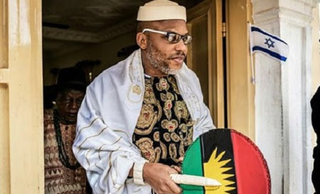 How Nnamdi Kanu and His Father Disappeared After Army Invaded Our Home, Shot People Dead - Brother Speaks Out