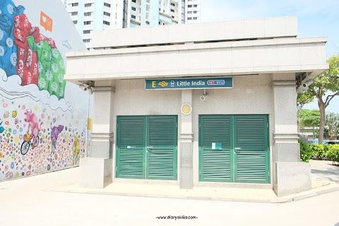Wisata Mural Gratis di Singapore