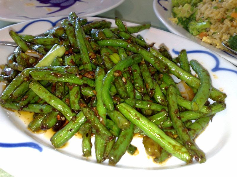 Vegetarian Stir Fried String Beans