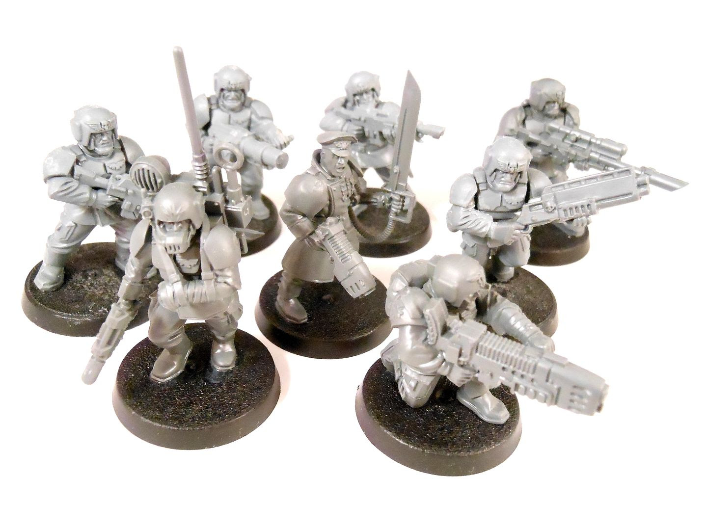 A cadian kill team from Shadow War: Armageddon.