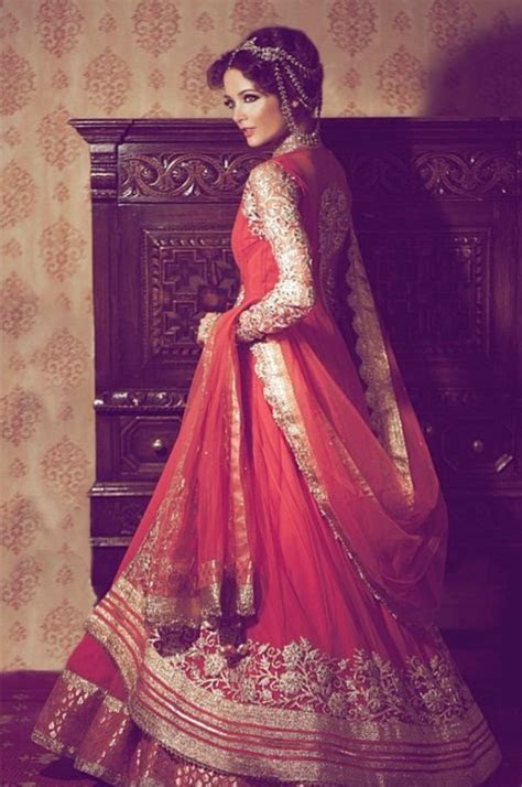 Pakistani Bridal Lehenga Dresses Designs & Styles 2016 2017