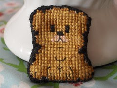Little dog cross stitch