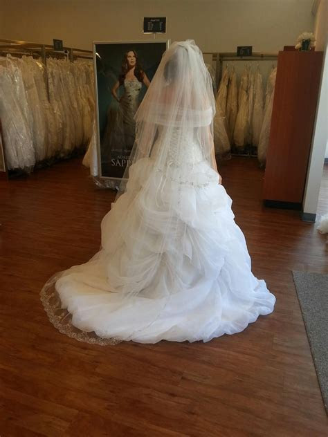 Belle wedding dress from Alfred Angelo   Beauty and the