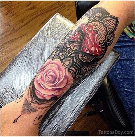 graceful flowers wrist tattoos