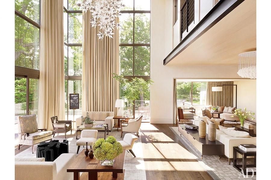 Design Inspiration: High-Ceiling Decorating Ideas ...