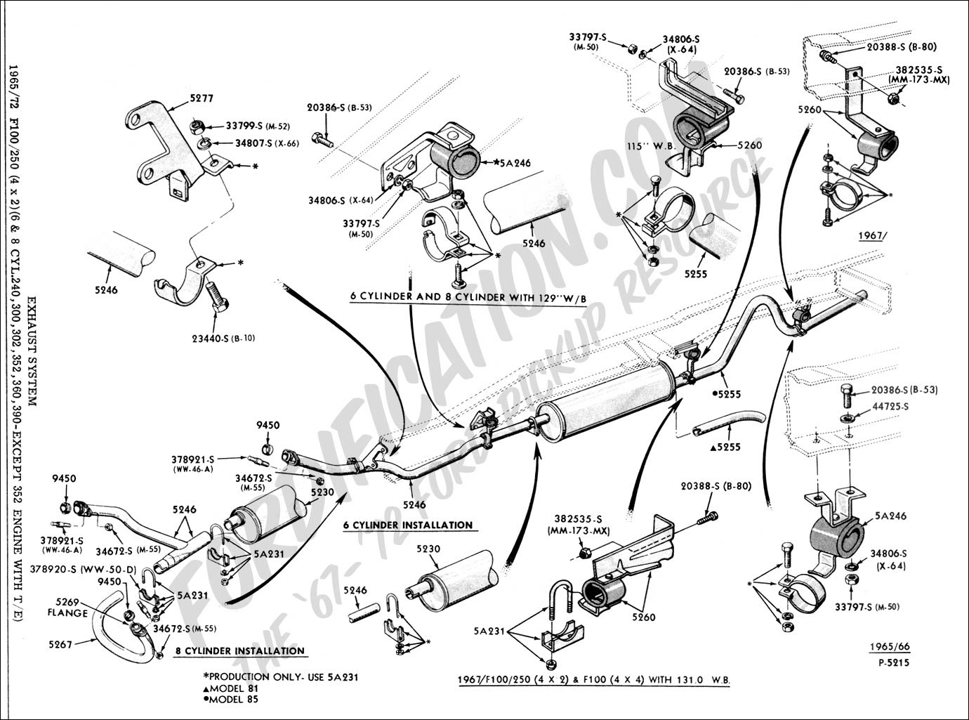 1989 Ford F 150 Exhaust Diagrams Wiring Diagrams Regular A Regular A Miglioribanche It