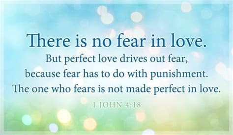 Free 1 John 4:18   Perfect Love eCard   eMail Free