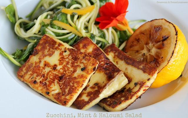 Zucchini, Mint & Haloumi Salad 3