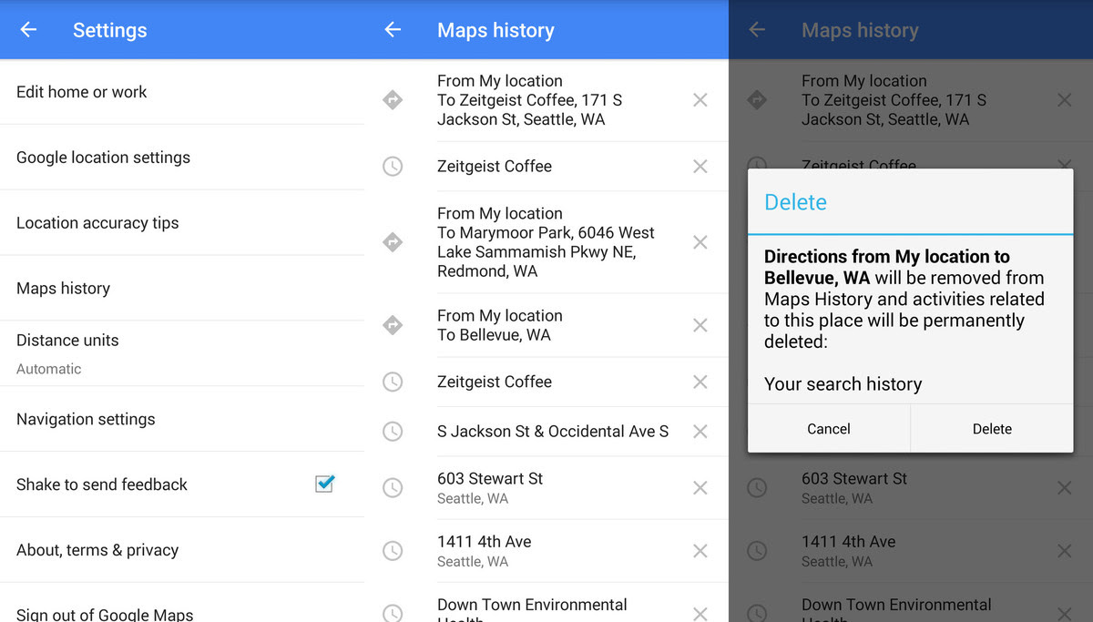 Clear Google Maps History On Iphone Leawo Tutorial Center