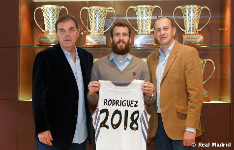 Firma renovación de Sergio Rodríguez