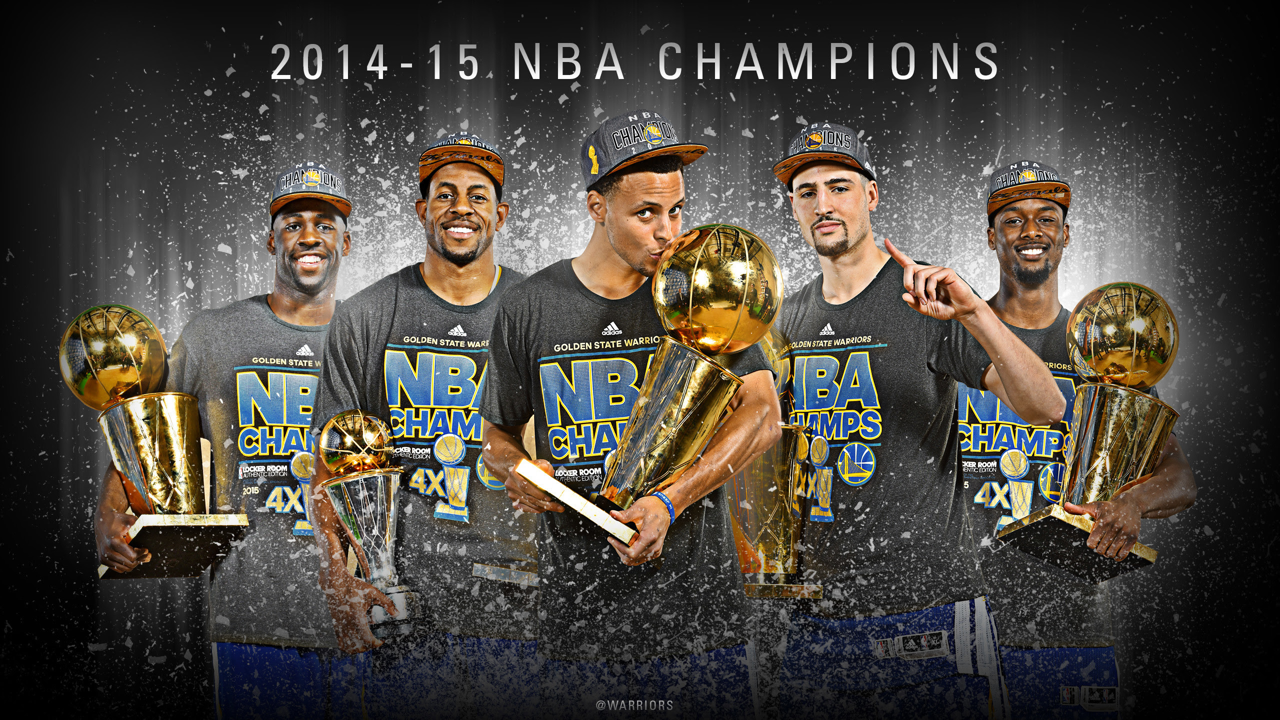 Golden State Warriors Champions Wallpapers (79+ images)