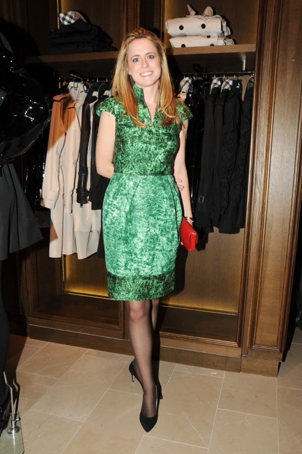 5 Opening of the New Burberry London Shop at Saks Fifth Avenue NY-Anne Huntington