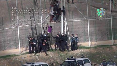 Imagen del vídeo de los hechosdenunciados (Prodein)