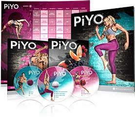 piyo workout dvds  weights  jumps  hardcore