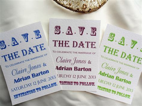Vintage Save The Date Postcards 80p   Wedding Save The