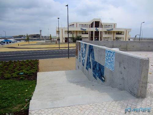 Arte Urbana by Add Fuel - Azulejos, Herança Viva na Figueira da Foz Portugal - Escadas (6) [en] Urban art by Add Fuel - Tiles, Living Heritage in Figueira da Foz, Portugal