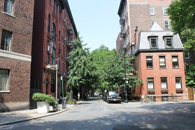 Commerce and Barrow Streets, West Village, NYC