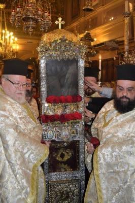 Χιλιάδες οι προσκυνητές του Αγίου Σπυρίδωνος του θαυματουργού για το λαμπρό εορτασμό