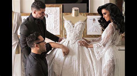 Lilly Ghalichi Mir's Wedding Dresses   Ryan and Walter