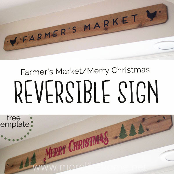 reversible sign