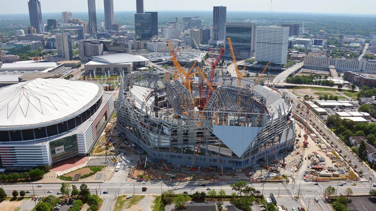 Officials: Mercedes-Benz Stadium cost rises to $1.6 ...