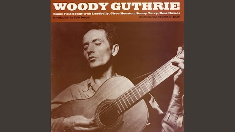 We Shall Be Free Lyrics Woody Guthrie
