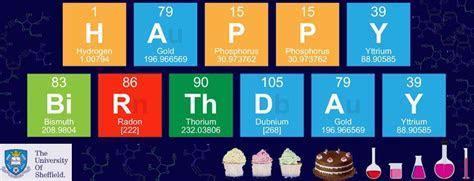 Chemistry birthday Puns