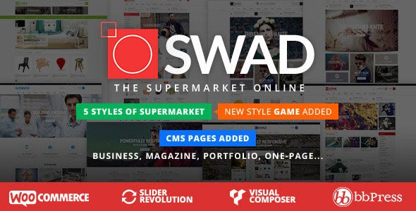 Oswad v3.0.0 - Responsive Supermarket Online Theme