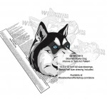 Siberian Husky Dog Intarsia Yard Art Woodworking Plan - fee plans from WoodworkersWorkshop® Online Store - Siberian Husky Dogs,pets,animals,dogs,breeds,instarsia,yard art,painting wood crafts,scrollsawing patterns,drawings,plywood,plywoodworking plans,woodworkers projects,workshop blueprints