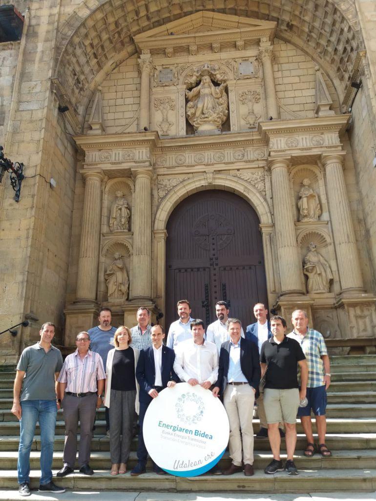 El EVE reconoce el compromiso del Ayuntamiento de Irun en materia de eficiencia energética