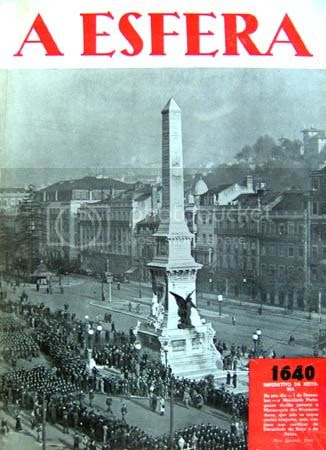 Capa do número 34, com as imagens do desfile da Mocidade Portuguesa na Praça dos Restauradores, por altura das comemorações do dia 1 de Dezembro. * Image hosted by Photobucket.com