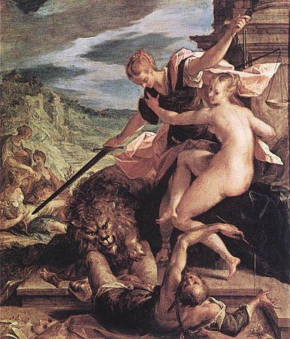 Αλληγορία -Ο θρίαμβος της αλήθειας  - Hans von Aachen (1552-1615)