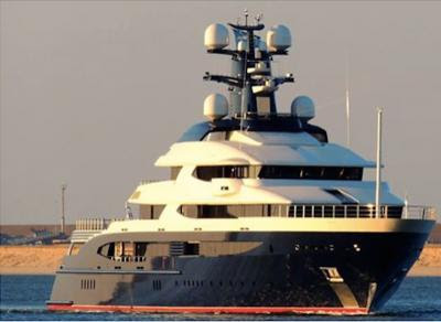 Equanimity - the world's 34th largest yacht is believed to be owned by Jho Low
