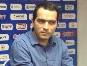 Elias, apresentação, Fortaleza, Marcelo Paz (Foto: Eduardo Trovão/TV Verdes Mares)