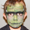 Frankenstein Makeup Easy