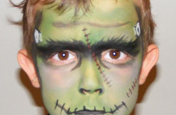 Frankenstein Makeup Ideas For Kids
