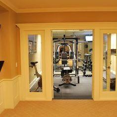 Basement Gym on Pinterest