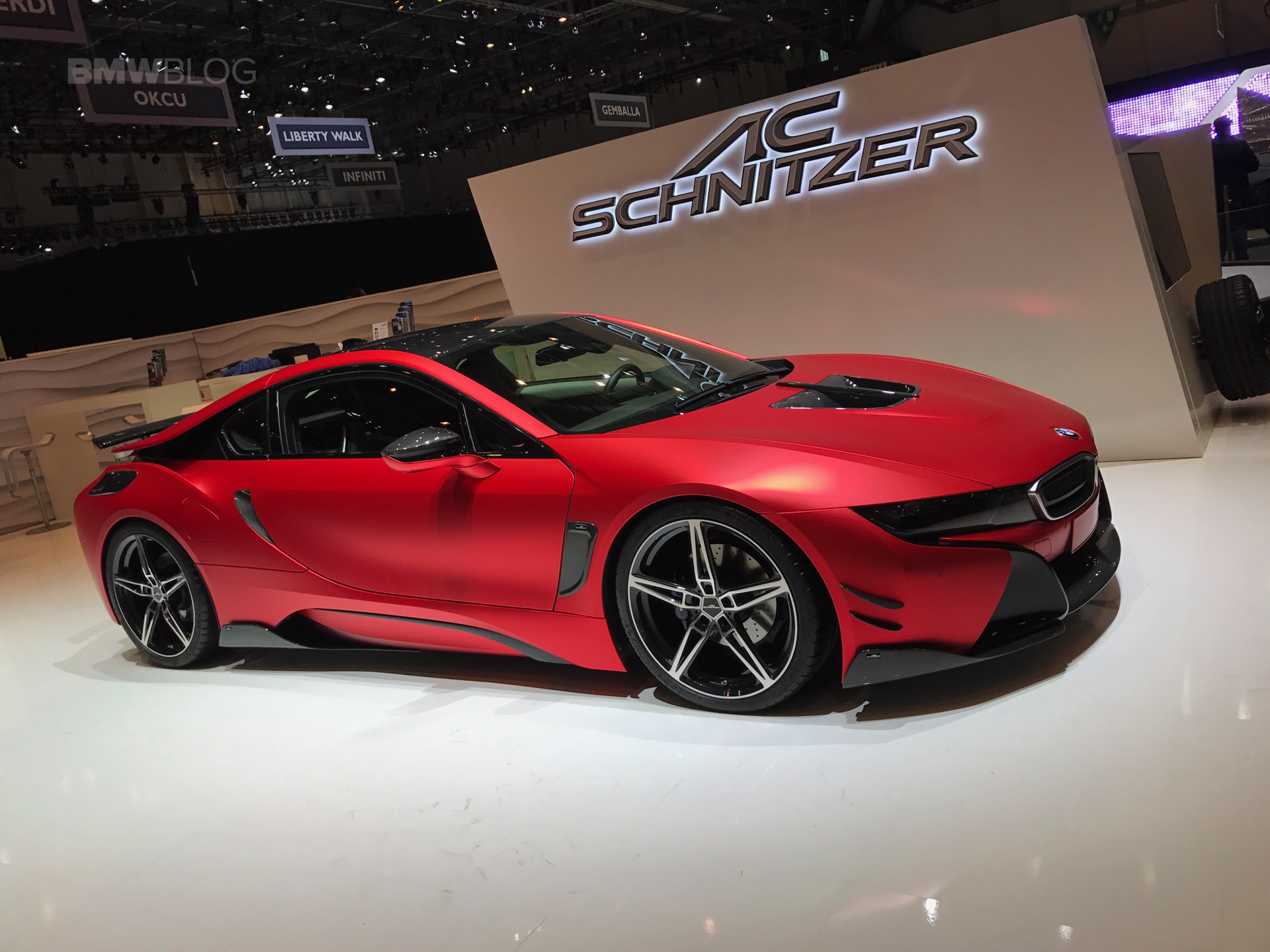 AC Schnitzer brings the BMW i8 and M240i at the 2017 Geneva Motor Show