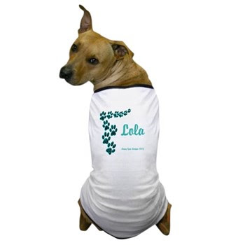 Lola Name Dog T-Shirt