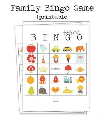 1000+ images about Bingo Games For Kids on Pinterest | Bingo for ...