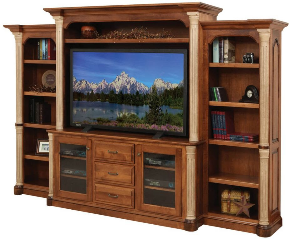 Amish Wall Entertainment Centers