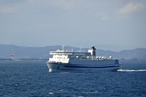 僚船と反航
