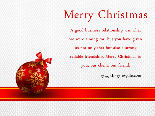 Christmas Wishes Letter To Clients - Xmast 4