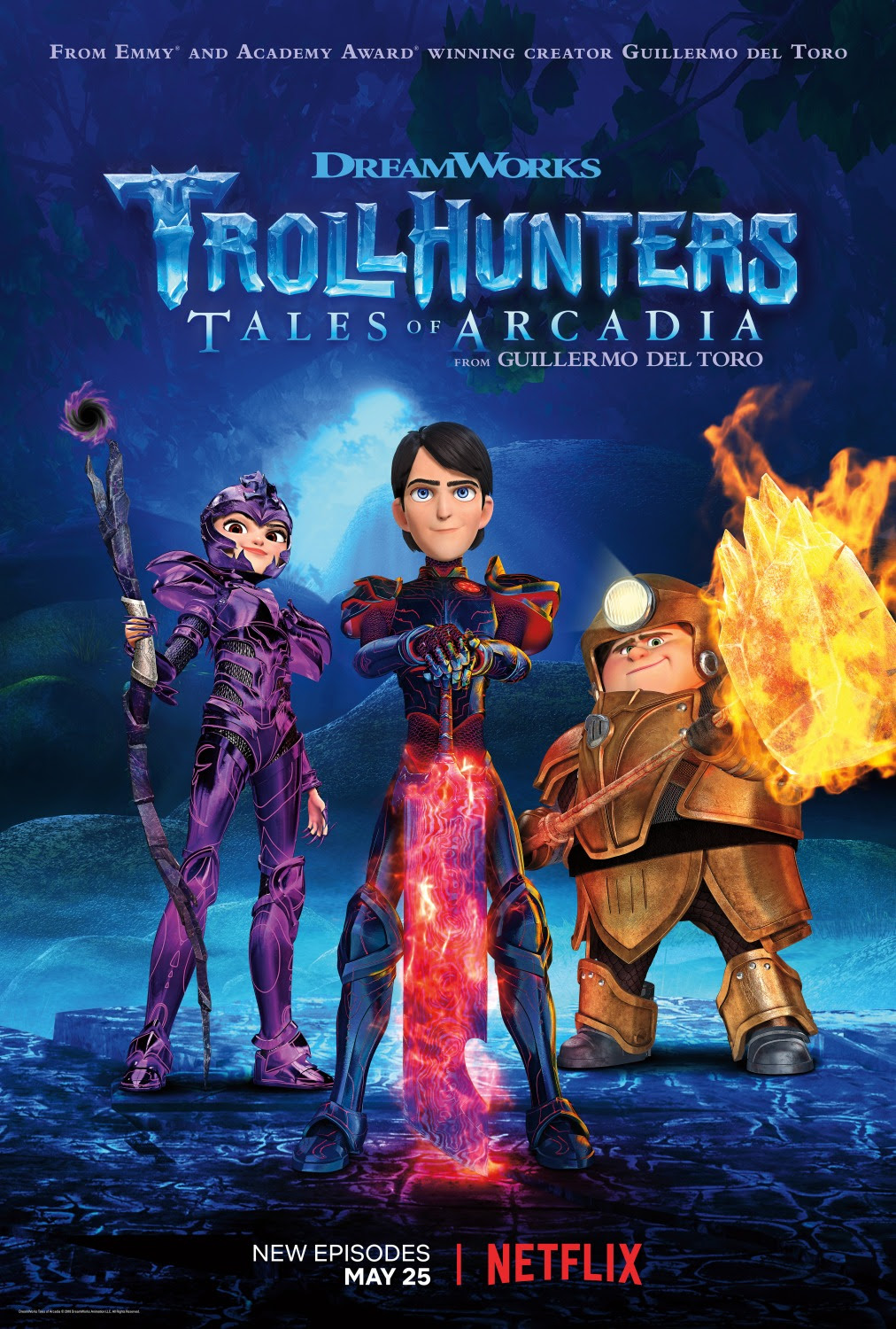 Extra Large Movie Poster Image for Trollhunters (#18 of 18)